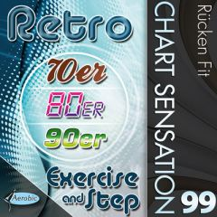 Retro Exercise & Step Charts 99