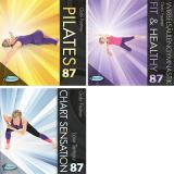 DOWNLOAD!  Triple Workout 87 Pilates+Fit & Healthy + Low 87
