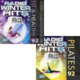 Pilates + Fit & Healthy Kombination 92 Radio Winter Hits