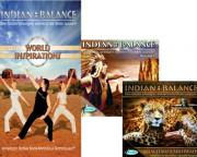Indian Balance Package 1  DVD + 2 CDs
